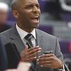 PETE  BANNAN-DIGITAL FIRST MEDIA     West Chester University men's basketball coach Damien Blair.