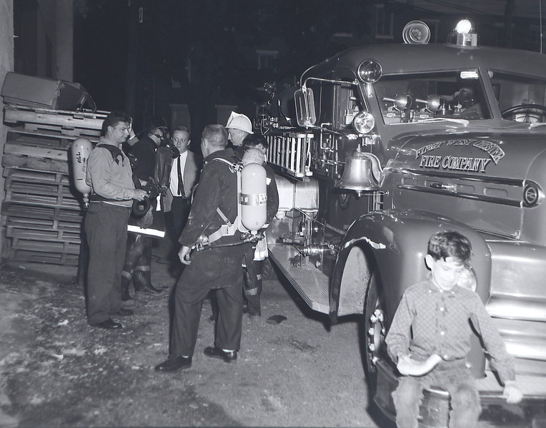 An overheated industrial oven at the Whitford Chemical Co., 20 N. Matlock st., West Chester, brought West Chester's three fire companies to the building on a general alarm at 7:59 p.m. last night.(May 19,1966)