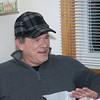"December 24, 2013:  Bob, now ready to tackle the next snowfall in his new ""Bob Newhart"" cap."