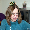 December 25, 2016:  The traditional Christmas bow on her head.