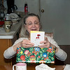 December 25, 2016:  She liked the card, too.