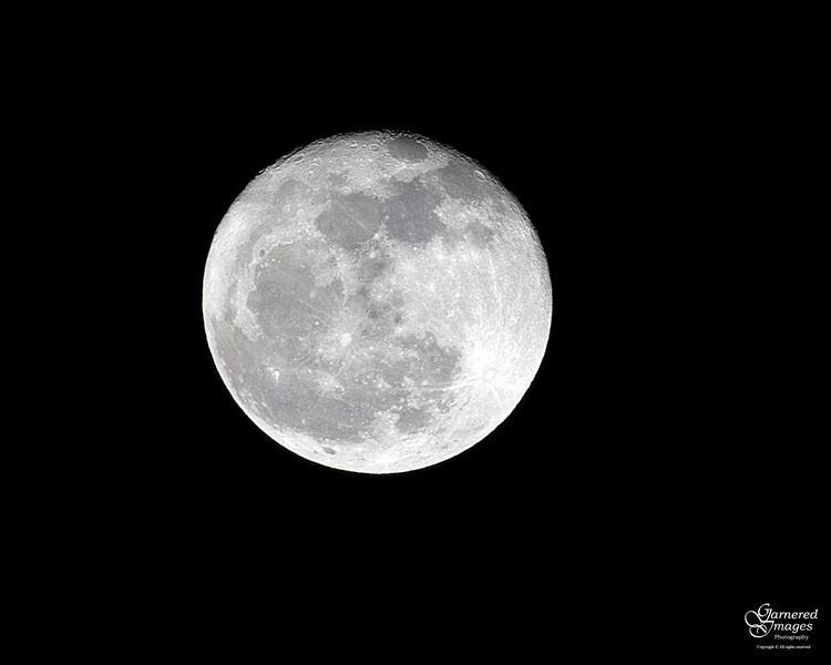 February 8, 2012:  La Luna.