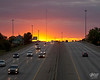 September 30, 2012:  Urban sunset.