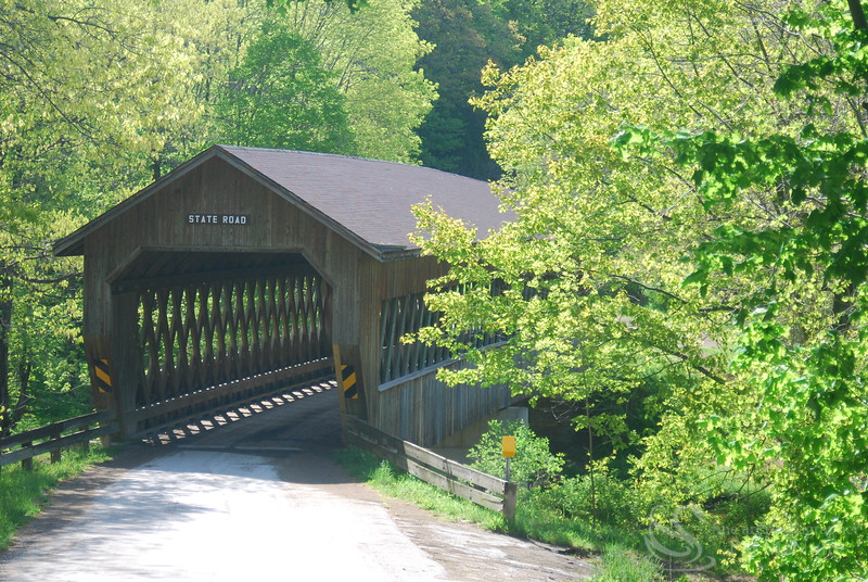 State Rd Covered Bridge Picture