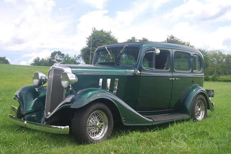 1933 Chevy Motor Eagle 4 Door Sedan Classic Car Picture
