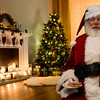 Santa Claus Loves Cookies and Milk Picture