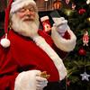 Santa Claus Loves Cookies and Milk Photo