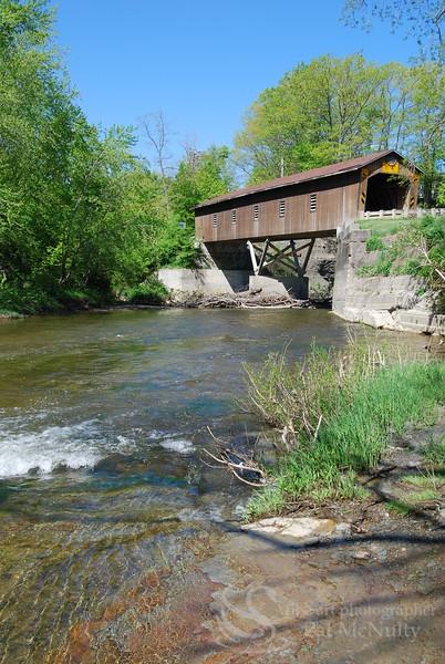 Creek Rd Covered Bridge Photo