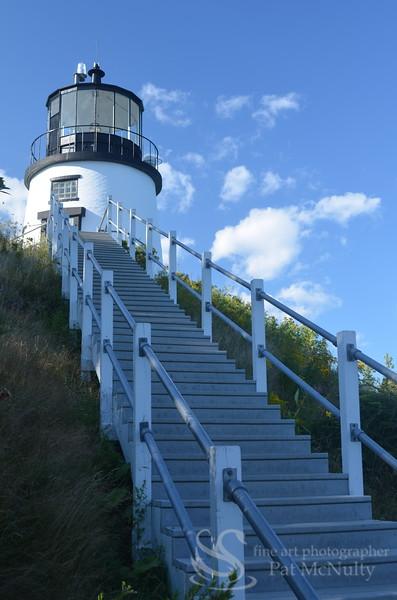 Owl's Head Lighthouse in Maine