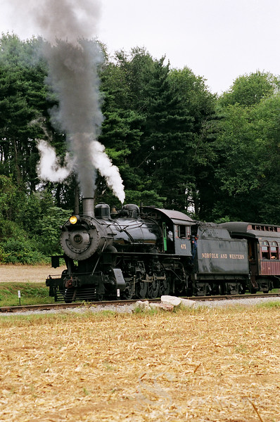 Steam Locomotive Picture