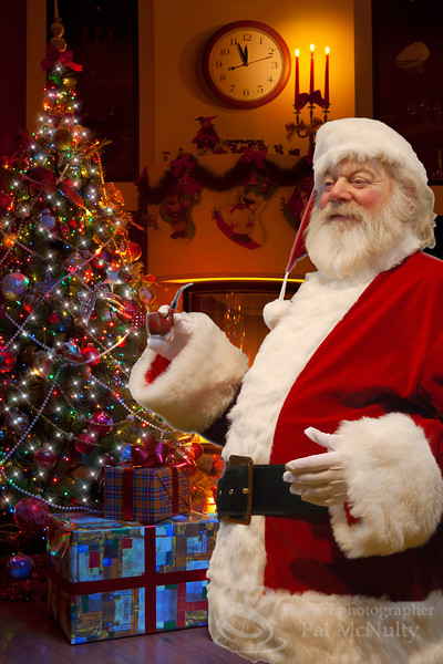 Santa Claus Gifts of Time and Love Photo