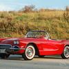 1956 Chevrolet Corvette Convertible Coupe Car Photo