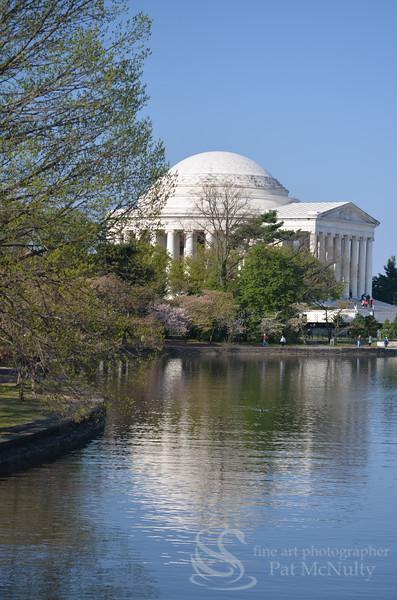 Jefferson Memorial Statue Photo