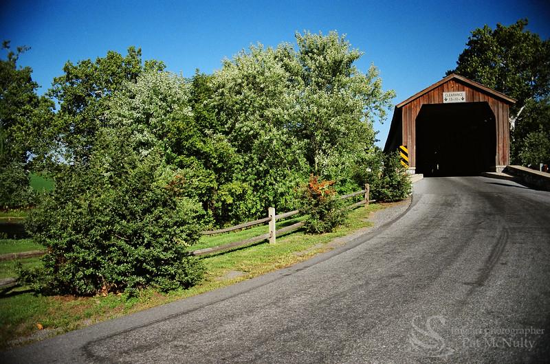 Hunsikersmill Covered Bridge