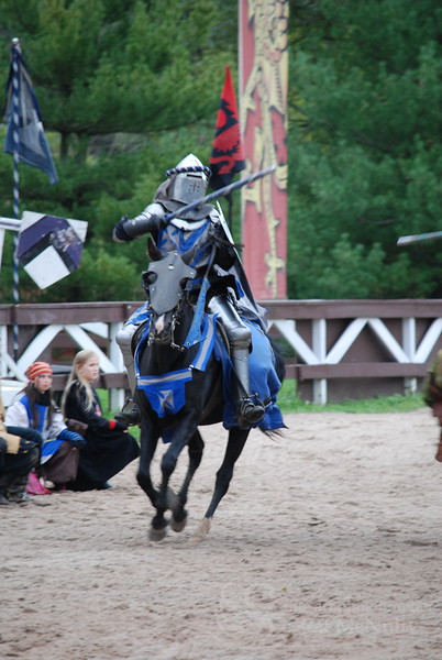 Knight on Horse Picture