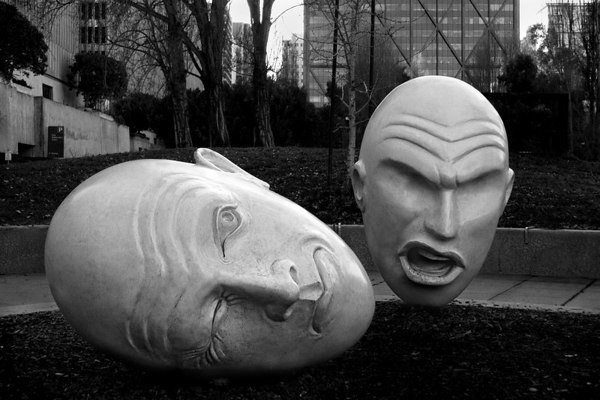 January 20 - Heads - San Francisco's Embarcadero