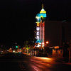 2008.04.22 (Tue) - The Tower theater, on Vernon street in old Roseville, is still a beautiful sight.  I remember standing in line as a teenager in 1977 with my friend David Lish to see Star Wars when it first came out!