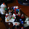 2009.01.04 (Sun) - Farewell Snowmen, see you in November!<br /> <br /> Skipped church this morning, got up and got started with today's mission to take down the Christmas decorations.  Robin and I gathered boxes and split up the work.  I saw all these snowment on the coffee table and had to grab the shot.  We were done packing things up by noon and spent the rest of the day cleaning the back bedrooms.<br /> <br /> Later Cory and Jen came over and we all watched a movie together, now R and I are ready to turn in for the night.<br /> <br /> Hope you all had a nice weekend!<br /> <br /> Until tomorrow, Darron