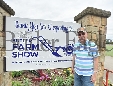 82756  Jim Lokhaiser  a 25-year veteran organizer of the Butler Farm Show is retiring after this year's event.