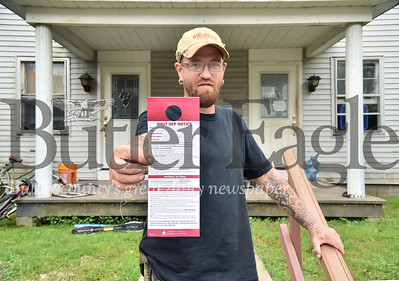 11784 Art Pillart has his water shut off after getting a shut off notice to pay previous tenats 6,974.80 water bill from Pennsylvania American Water