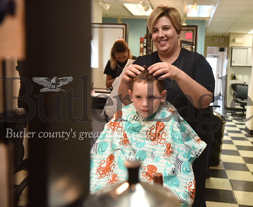 43655 Center for Community Resources hosted free haircuts to kids  at Butler Beauty Academy