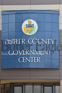 Butler County Government Center new sign