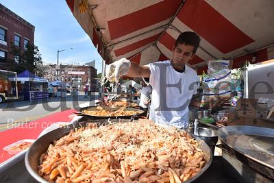 Butler Italian Festival on Main St in Butler