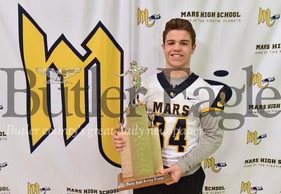 23819 Mars' Garrett Reinke won the 2018 Butler Eagle Scoring Trophy