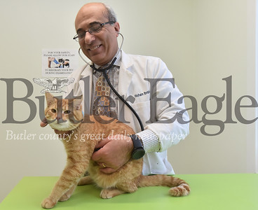 53807 Dr. Hisham Ibrahim owner of Good Shepherd animal hospital in Adams Twp