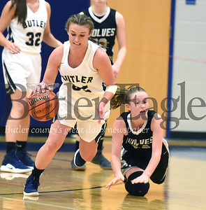 Butler vs West Shamokin Girls basketball at the Armstrong Girls Basketball Tip-Off at Armstrong High School