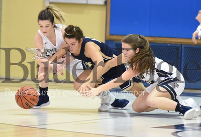 Butler vs Franklin Regional Girls basketball game at Butler High School