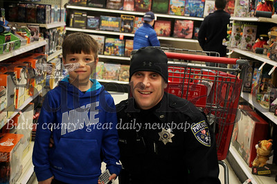 Target located in Cranberry, Cops Christmas