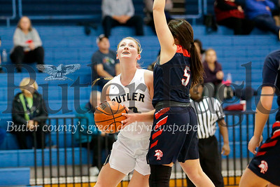 Butler vs Shaler Girls Basketball