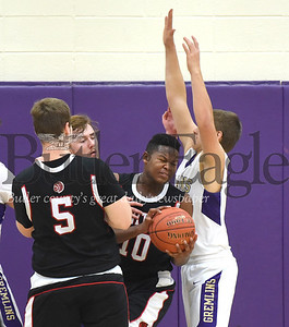 82476 Moniteau vs Karns City District 9  Boys Basketball game at Karns City