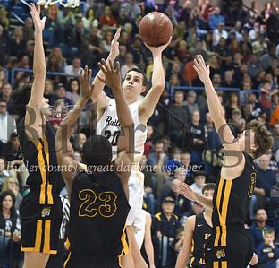 59075 Butler Vs North Allegheny WPIAL Class 6A Boys Basketball game at Butler High School