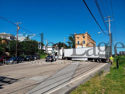 Truck on Jefferson
