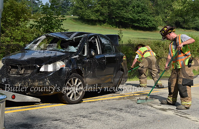 41295 a one car accident on DECATUR DR  in Butler twp
