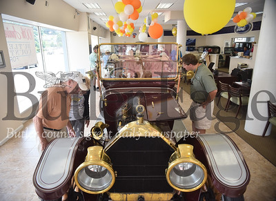 91798 Model T cars were on display at Butler County Ford in Butler
