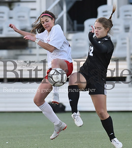 Seneca Valley vs Peters Twp in the  WPIAL Class 4A Girls soccer Finals playoff game at Highmark Stadium in Pittsburgh