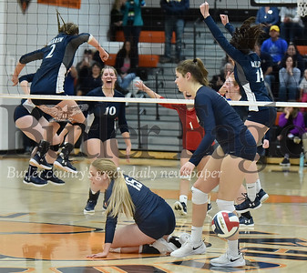 26763  Knoch vs Warren  PIAA  Class 3A Girls Volleyball Semi-Finals game at Clarion High School