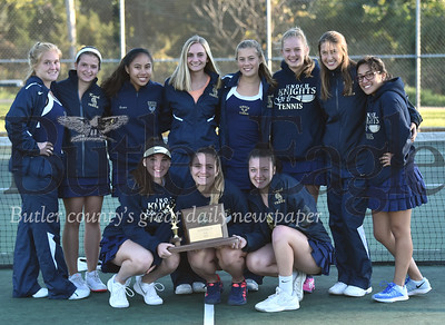 83575 Knoch vs Sewickley Academy inWPIALClass AA Girls team tennis championship finals at North Allegheny