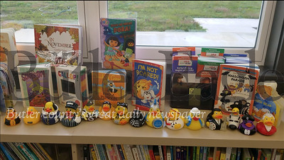 Slippery Rock Community Library's collection of rubber ducks have traveled around the world.