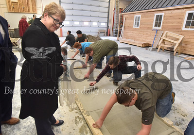 60435 Department of Labor& Industry Deputy Secretary Eileen Cipriani toured the Butler County Area Vo-Tech school in Butler Twp