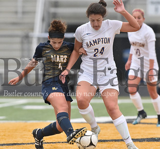 Mars vs Hampton WPIAL Class 3A Girls soccer semi-finals playoff game at North Allegheny