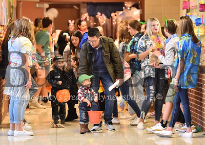 Mars high school trick or treat