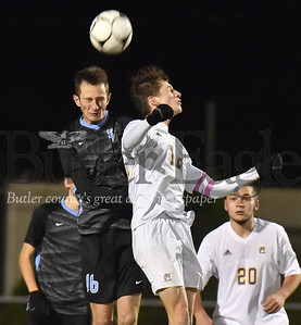 66043 Seneca Valley vs Canon-McMillian WPIAL 4A Boys Soccer semi-finals game at Mars