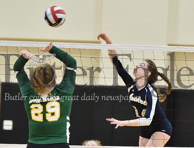 38957 Freeport vs Seton LaSalle WPIAL Class 2A Girls Volleyball quarterfinals at North Catholic