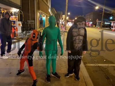Zelienople's Halloween Parade.