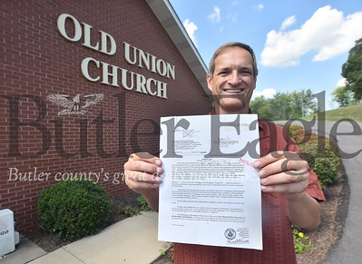 76283 Old Union Presbyterian church in Mars is going to burn its mortgage Sept. 9