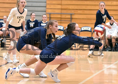 Knoch vs mars Girls Volleyball at Knoch High School